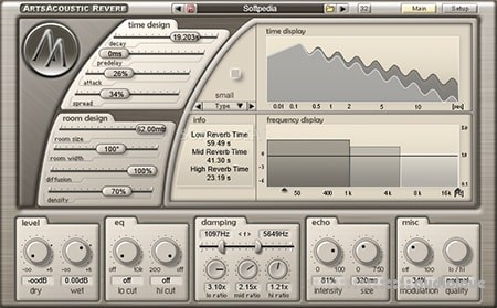 ArtsAcoustic Reverb v1.6.0.15 WiN MacOSX