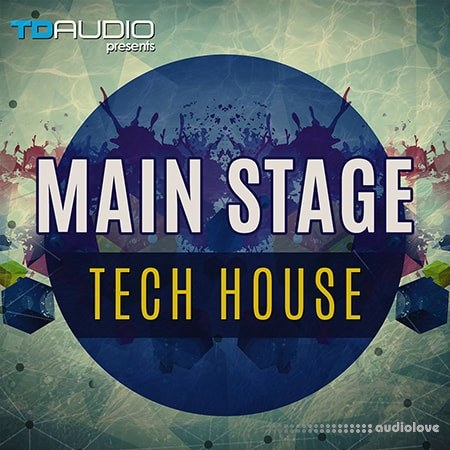 Industrial Strength TD Audio Presents Mainstage Tech House WAV MiDi Battery Synth Presets