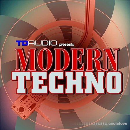 Industrial Strength TD Audio Modern Techno WAV MiDi Synth Presets