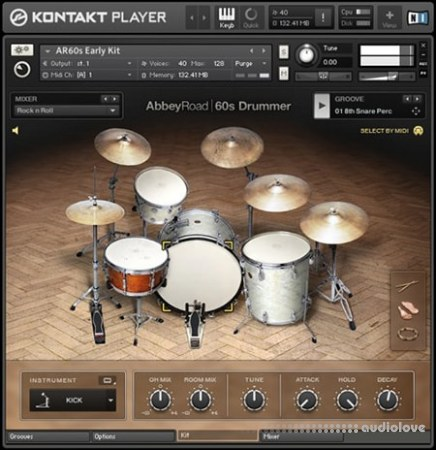 Native Instruments Abbey Road 60s Drummer v1.3 KONTAKT