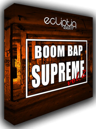 Ecliptiq Audio Boom Bap Supreme Vol.2 WAV