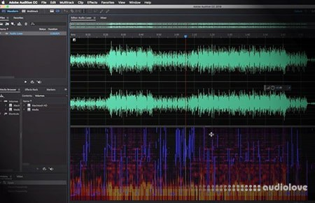 Groove3 Editing Audio with Adobe Audition TUTORiAL