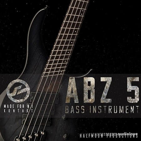 Half Moon Productions ABZ 5 BASS INSTRUMENT KONTAKT