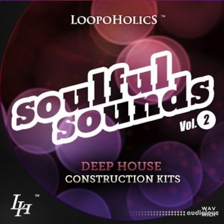 Loopoholics Soulful Sounds Vol.2 Deep House WAV MiDi