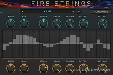 DAG Alliance Fire Strings KONTAKT