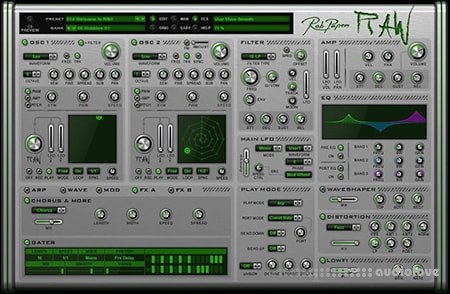 Rob Papen RAW 1.0.4b CE / v1.0.4 WiN MacOSX