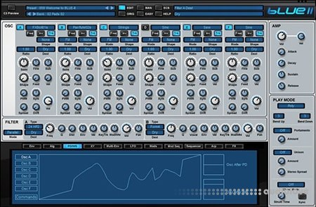 Rob Papen BLUE II v1.0.3 MacOSX