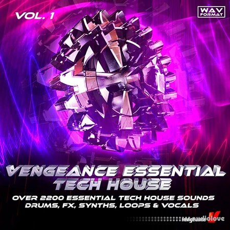 Vengeance Sample Pack Vengeance Essential Tech House Vol.1 WAV