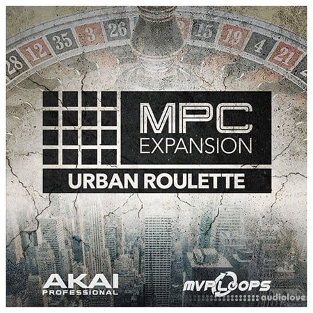 MPC Software AKAI MPC Software Expansion Urban Roulette v1.0.3 WAV WiN