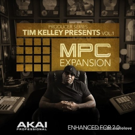 MPC Software AKAI MPC Software Expansion Tim Kelley Presents Vol.1 WAV WiN
