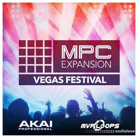 MPC Software AKAI MPC Software Expansion Vegas Festival v1.0.1 WAV WiN
