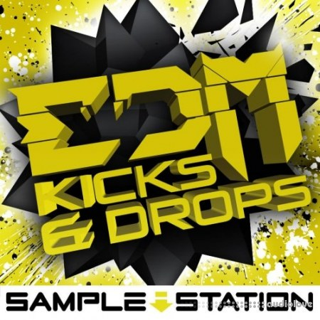 Sample Station EDM Kicks and Drops WAV