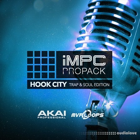 MPC Software AKAI MPC Software Expansion Hook City Trap+Soul Edition v1.0.3 WAV WiN