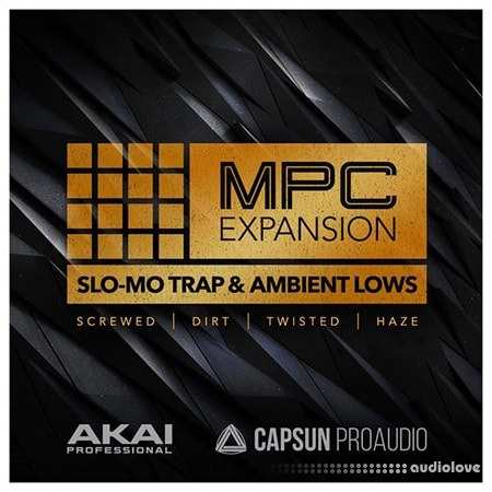MPC Software AKAI MPC Software Expansion Slo-Mo Trap+Ambient Lows v1.0.1 WAV WiN