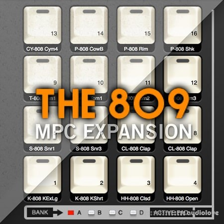 AKAI MPC Software Expansion The 809 v1.3 WiN