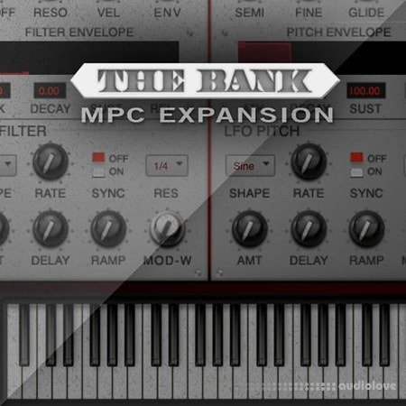AKAI MPC Software Expansion The Bank v1.3 WiN