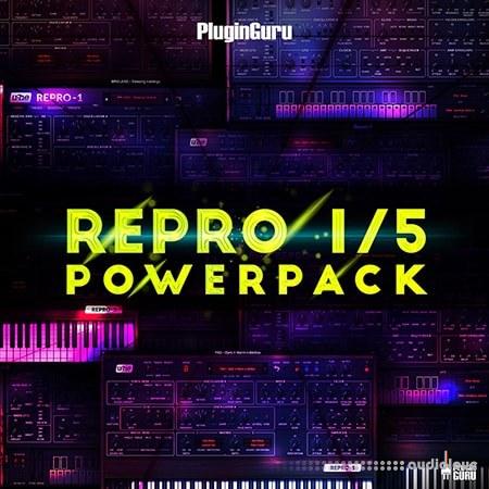 PlugInGuru Repro PowerPack Synth Presets