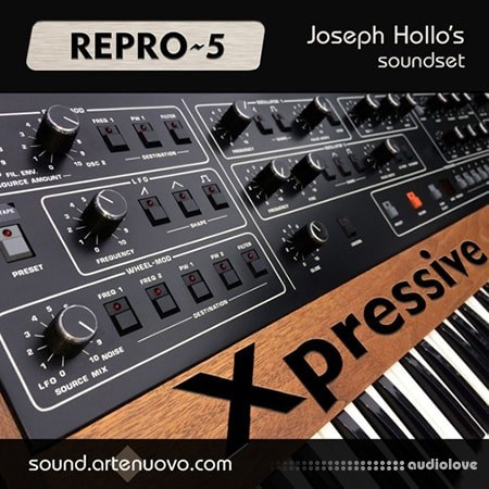 Arte Nuovo Xpressive for REPRO-5 Synth Presets