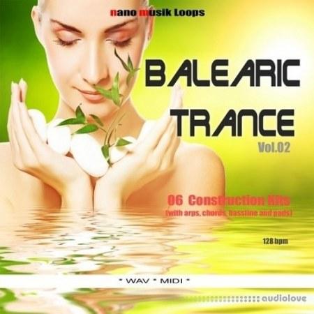 Nano Music Loops Balearic Trance Vol.2 WAV MiDi