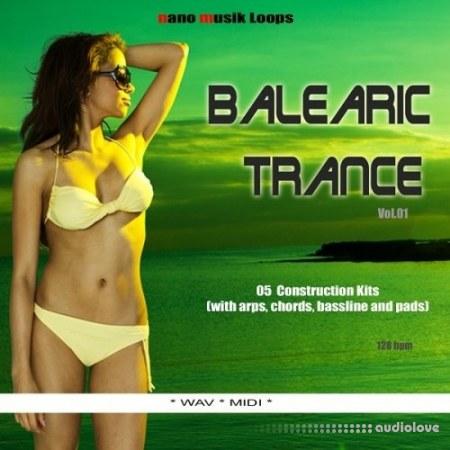 Nano Musik Loops Balearic Trance Vol.1 WAV MiDi