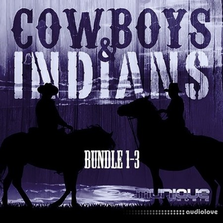 Munique Music Cowboys and Indians Bundle Vols.1-3 WAV