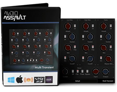 Audio Assault Multi Transient v1.7 WiN MacOSX