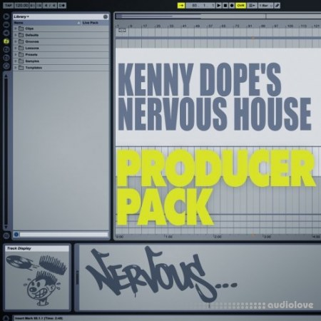 Nervous Records Kenny Dopes Nervous House Producer Pack MULTiFORMAT