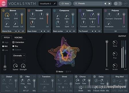 iZotope VocalSynth v2.00 / v2.01 WiN MacOSX
