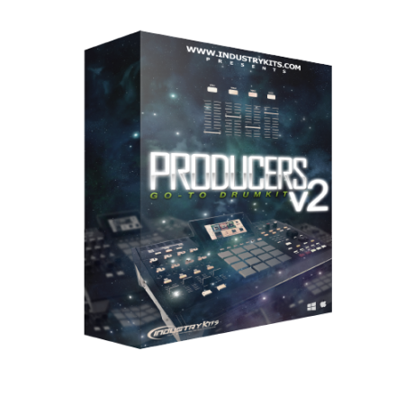 Industry Kits Producers Go-To DrumKit V2 WAV