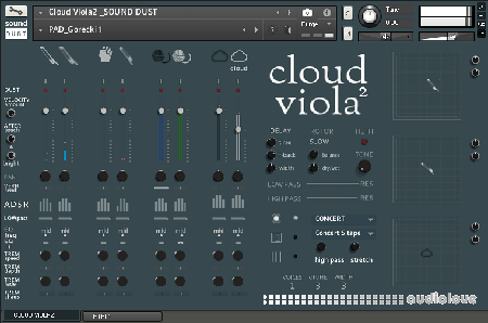 Sound Dust Cloud Viola² KONTAKT