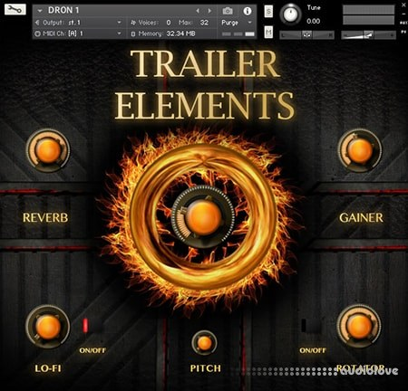TH Studio Trailer Elements Vol.1 KONTAKT