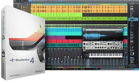 PreSonus Studio One 4 v4.1.1 WiN MacOSX