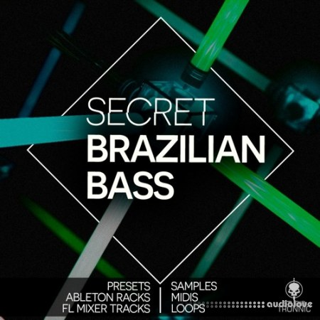 Studio Tronnic Secret Brazilian Bass Presets and Racks WAV MiDi Synth Presets