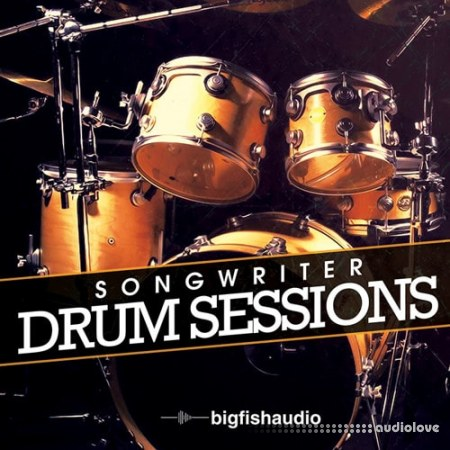 Big Fish Audio Songwriter Drum Sessions KONTAKT MULTiFORMAT