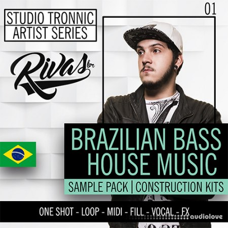 Studio Tronnic Artist Series Rivas (RB) Vol.1 Bralizian Bass House Music WAV MiDi Synth Presets