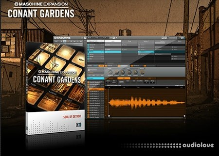 Native Instruments Maschine Expansion Conant Gardens v2.0.1 WiN