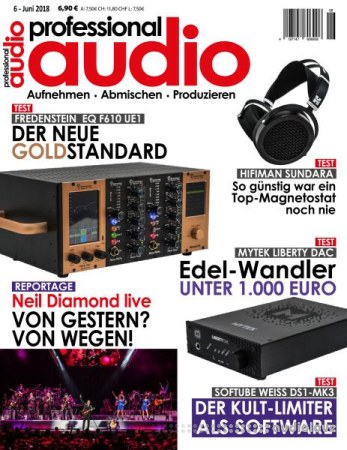 Professional Audio Juni 2018