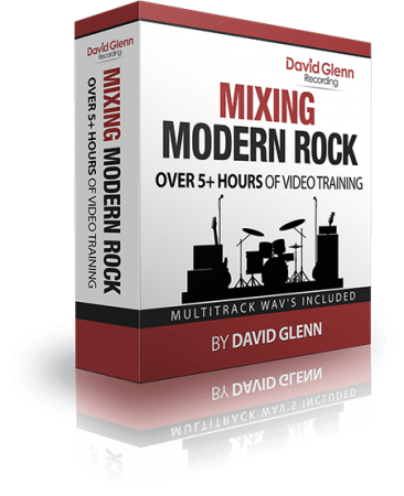 David Glenn Mixing Modern Rock TUTORiAL