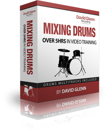 David Glenn Mixing Drums TUTORiAL
