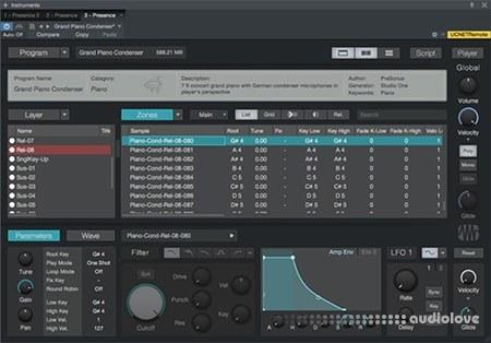 Presonus Presence XT Editor WiN MacOSX