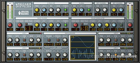 Amazing Machines WRECKER Wave Folder v1.0 Reaktor