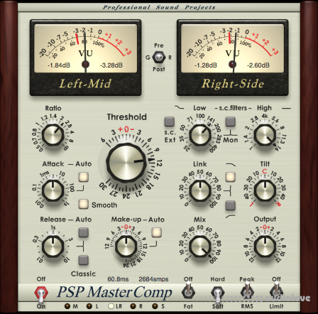 PSPaudioware MasterComp v1.8.0 WiN MacOSX