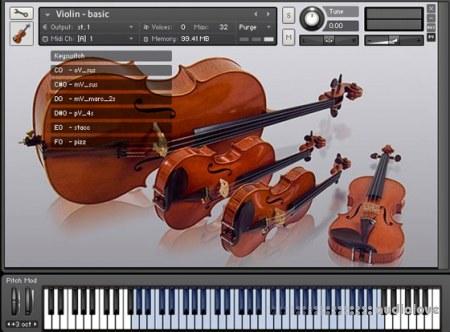 Vienna Chamber String Quartet Violin KONTAKT