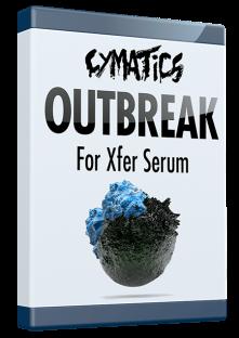 Cymatics Outbreak for XFER Serum