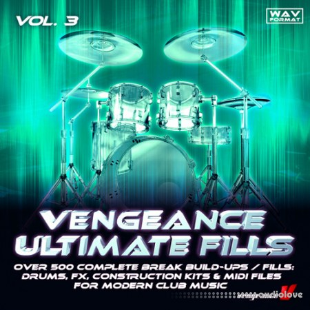 Vengeance Ultimate Fills Vol.3 WAV MiDi