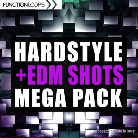 Function Loops Hardstyle and EDM Shots Mega Pack WAV