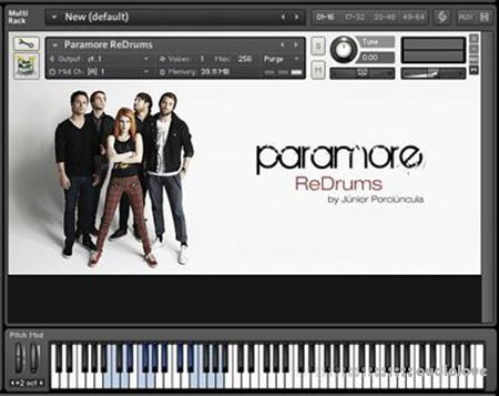Paramore ReDrums by Junior Porciuncula KONTAKT