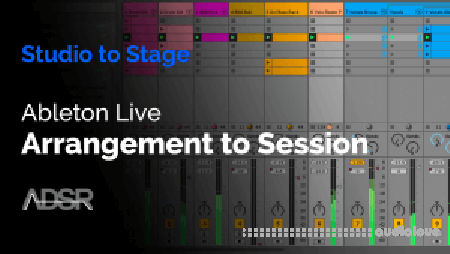 ADSR Sounds Ableton Live Arrangement to Session TUTORiAL