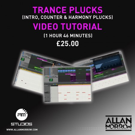 Allan Morrow Trance Plucks TUTORiAL