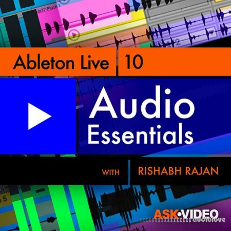 Ask Video Ableton Live 10 103 Audio Essentials TUTORiAL